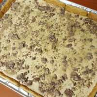 Peppermint Crisp Pie